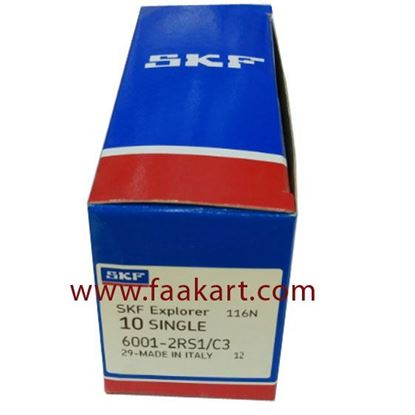 Picture of 6001-2RS1/C3 SKF Deep Groove Ball Bearing
