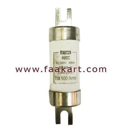 Picture of 100A HRC FUSE AC550V 80kA TIS 100Amp