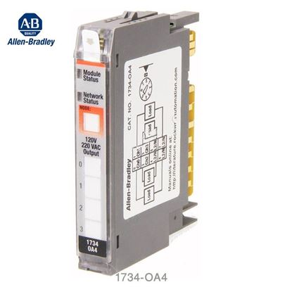 Picture of 1734-OA4 Allen Bradley 4 Channel Output