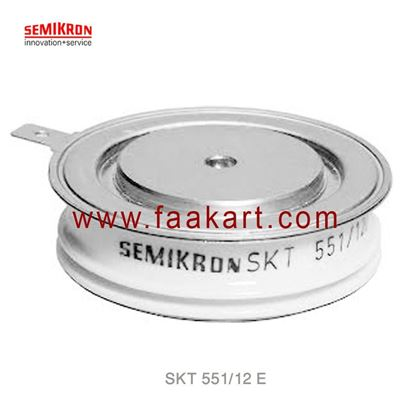 Picture of SKT 551/12 E  SEMIKRON  Thyristor