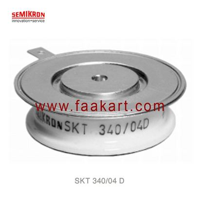 Picture of SKT 340/04 D  SEMIKRON  Thyristor