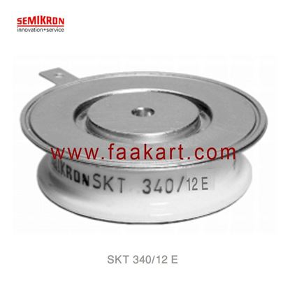 Picture of SKT 340/12 E  SEMIKRON  Thyristor