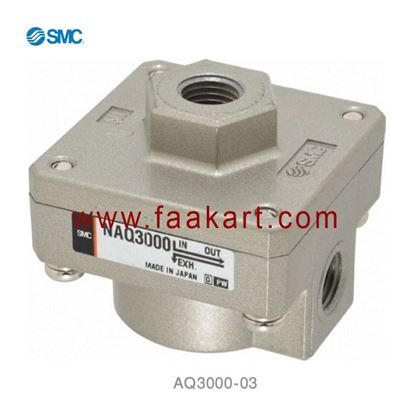 Picture of AQ3000-03  SMC Quick Exhaust  Valve