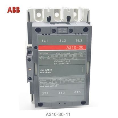 Picture of A210-30-11-55 ABB Contactor 600V AC, 60 Hz Coil