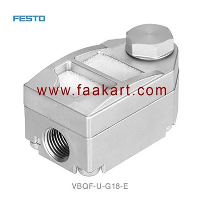 Picture of VBQF-U-G18-E 547531 Festo SQuick exhaust valves