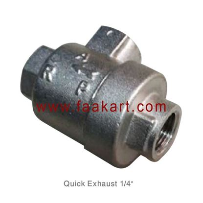 "Picture of 1/4"" Quick Exhaust Valve"