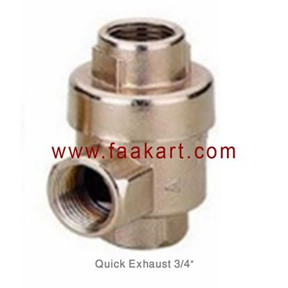 "Picture of 3/4"" Quick Exhaust Valve"