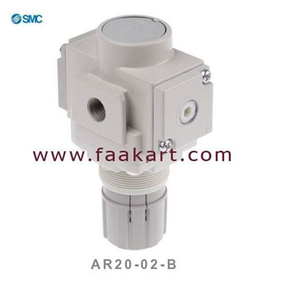 "Picture of AR20-02-B SMC Regulator 1/4"""