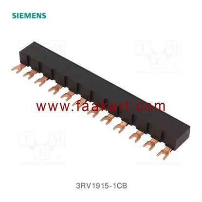 Picture of 3RV1915-1CB Siemens 3-phase busbars Modular spacing