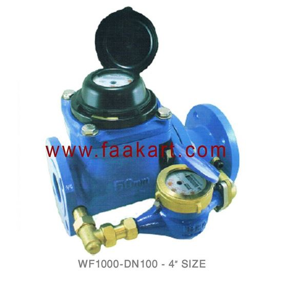 """Picture of DN100 Woltmann Water Meter WF1000  4"""" Size"""