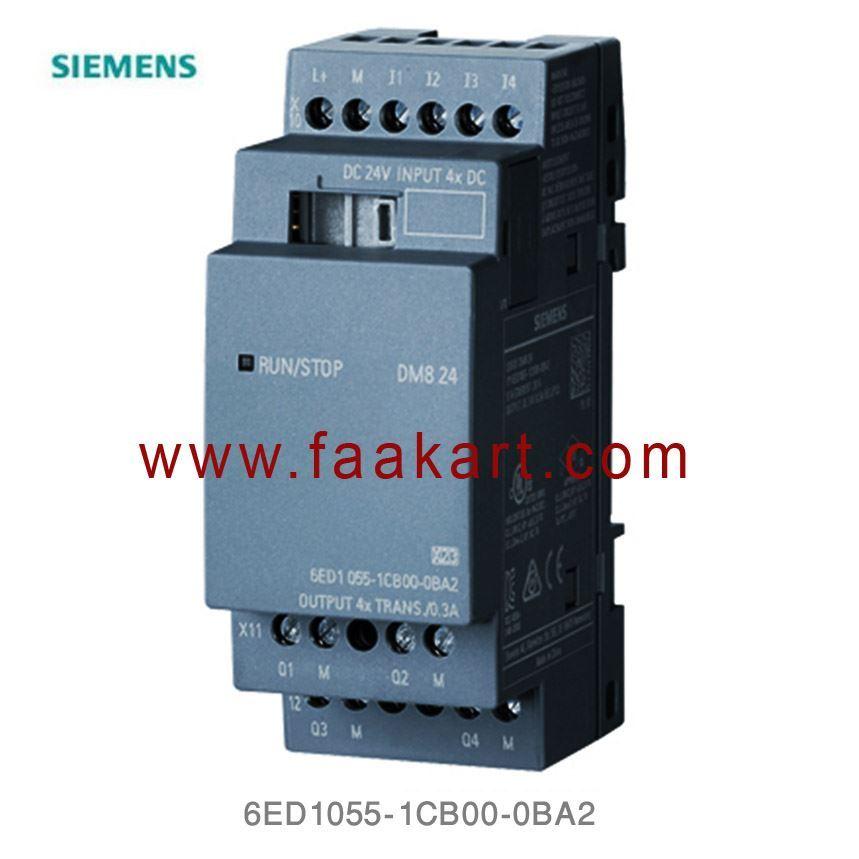 SIEMENS LOGO Expansion Module DM8 12//24 6ED1 055-1MB00-0BA1