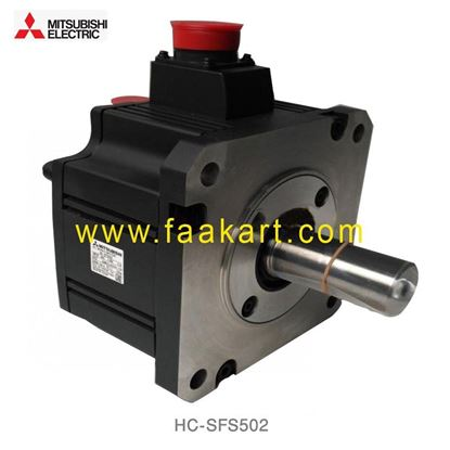 Picture of HC-SFS502 Mitsubishi AC Industrial Servo Motor