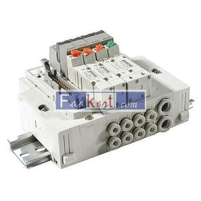 Picture of SS5Y3-45-06D-C6-Q - SMC Manifold SY3000 type 45, 6 station 6mm