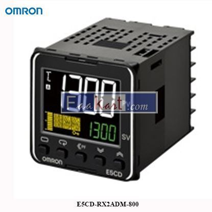 Picture of Omron E5CD-RX2ADM-800 Digital Temperature Controller