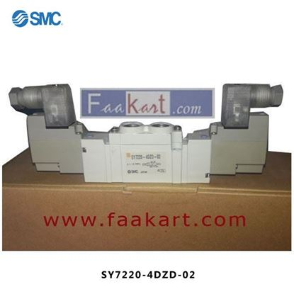 Picture of SY7220-4DZD-02 SMC  Solenoid Valve