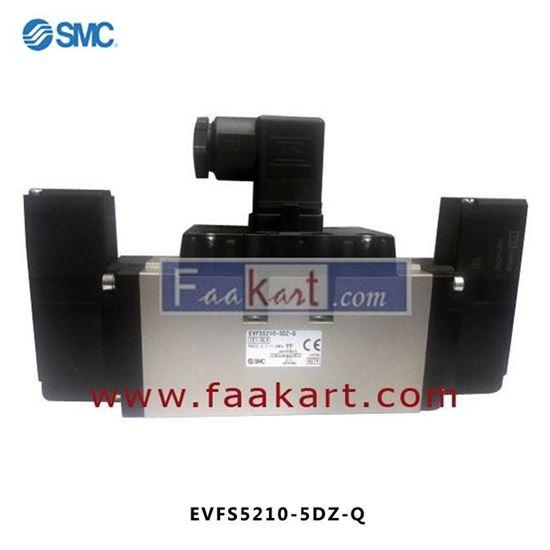 Picture of EVFS5210-5DZ-Q - SMC SOLENOID VALVE 5 PORT