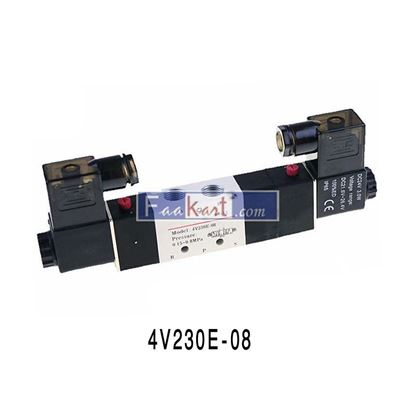 "Picture of 4V230E-08 AC220V-1/4"", 4V Solenoid Valve for Air,"
