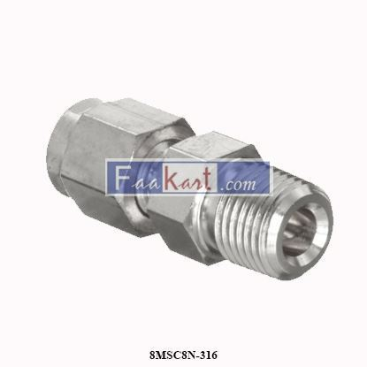 Picture of 8MSC8N-316 Parker A-Lok Male Connector
