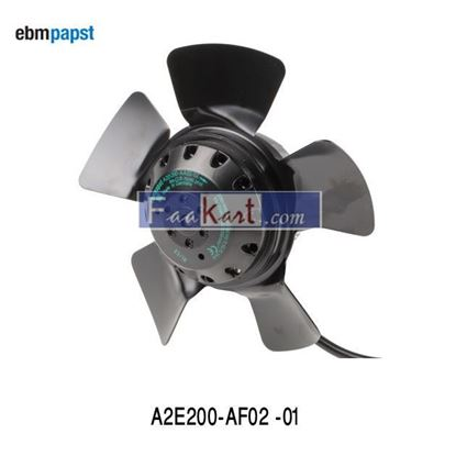 Picture of A2E200-AF02-01 ebm-papst  AC Axial Fan