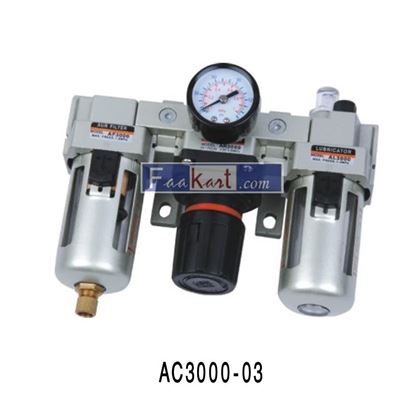 "Picture of AC3000-03 (3/8""), DOUBLE FILTER REGULATOR"