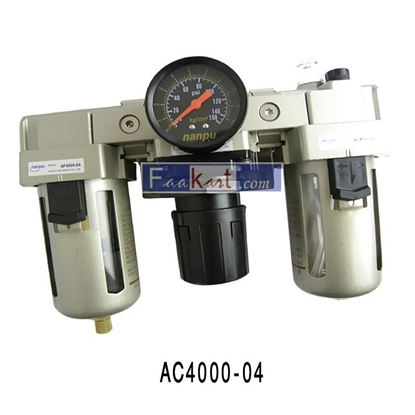 "Picture of AC4000-04 (½""), DOUBLE FILTER REGULATOR"