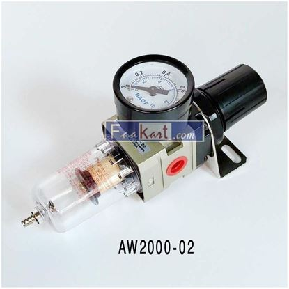 "Picture of AW2000-02(1/4""), SINGLE FILTER REGULATOR"