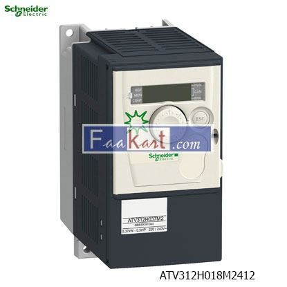Picture of ATV312H018M2412  Variable speed drive