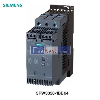 Picture of 3RW4046-1BB04 Siemens SIRIUS  Cushioned Starter