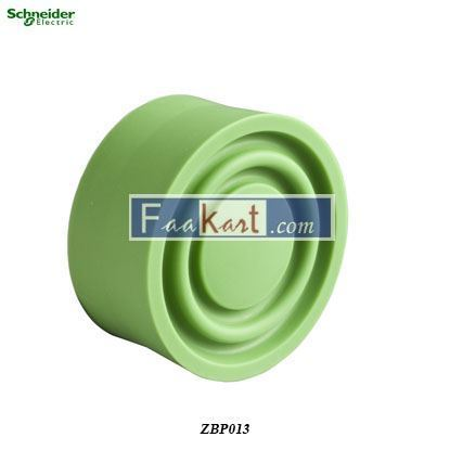 Picture of ZBP013  Green boot for circular flush pushbutton