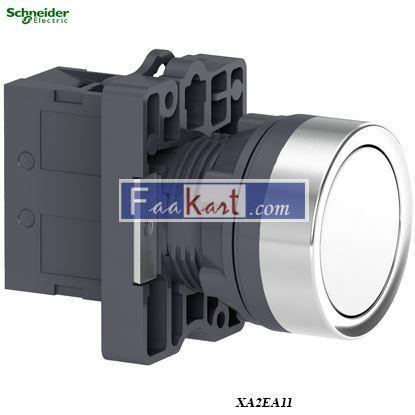 Picture of XA2EA11  Round white push-button