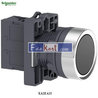 Picture of XA2EA21  Round black push-button