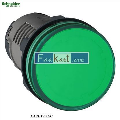 Picture of XA2EVF3LC  Round pilot light Ø 22 - green