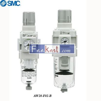 Picture of AW20-F02-B  FILTER/REGULATOR,