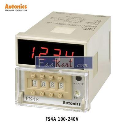 Picture of FS4A 100-240VAC Autonics Digital Counter