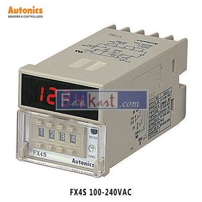 Picture of FX4S-100-240VAC Autonics Counter and Timer