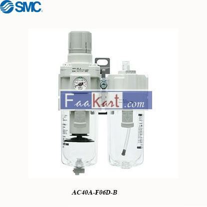 Picture of AC40A-F06D-B   FRL Assembly, Automatic Drain, 5μm Filtration