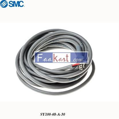 Picture of SY100-68-A-30  L type connector plug for valve