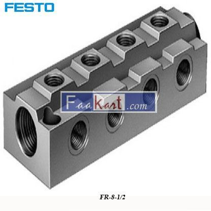 Picture of FR-8-1 2  Festo Pneumatic Regulator
