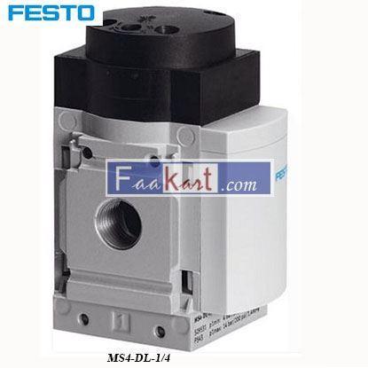 Picture of MS4-DL-1 4  Festo Pneumatic Control Valve PilotFesto Pneumatic Control Valve Pilot