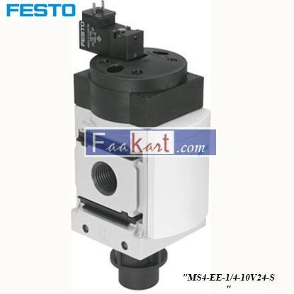 Picture of MS4-EE-1 4-10V24-S  FESTO  Pneumatic Control Valve