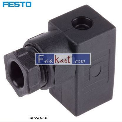 Picture of MSSD-EB  Festo Pneumatic Solenoid Coil Connector