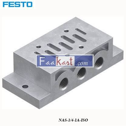 Picture of NAS-1 4-1A-ISO  FESTO  Sub Base