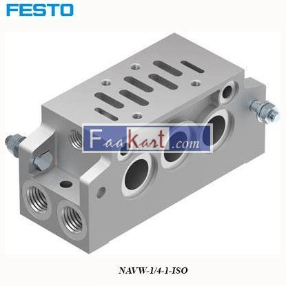 Picture of NAVW-1 4-1-ISO FESTO  Sub Base