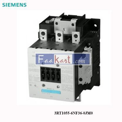 Picture of 3RT1055-6NF36-0JM0 Siemens  Contactor
