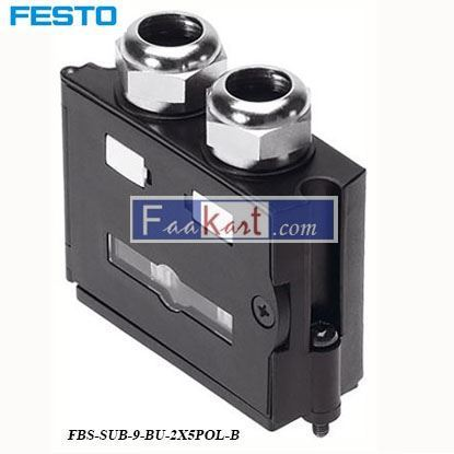 Picture of FBS-SUB-9-BU-2X5POL-B  FESTO  Fieldbus Adapter