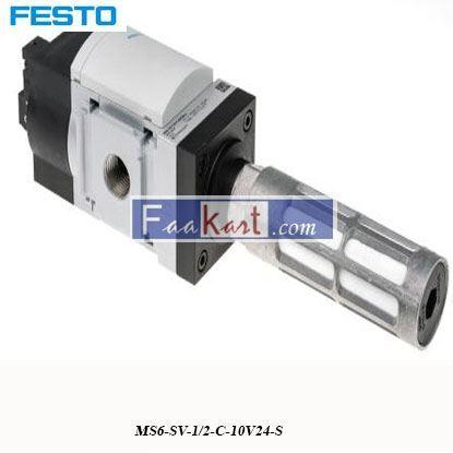 Picture of MS6-SV-1 2-C-10V24-S  festo Quick Exhaust Valve
