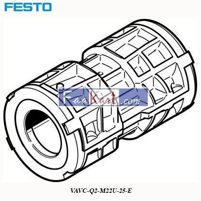 Picture of VAVC-Q2-M22U-25-E  FESTO   Valve Seal
