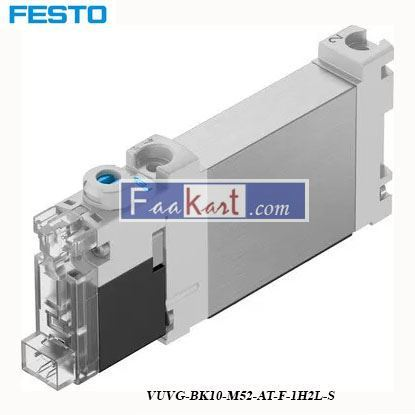Picture of VUVG-BK10-M52-AT-F-1H2L-S  FESTO   Pneumatic Control Valve