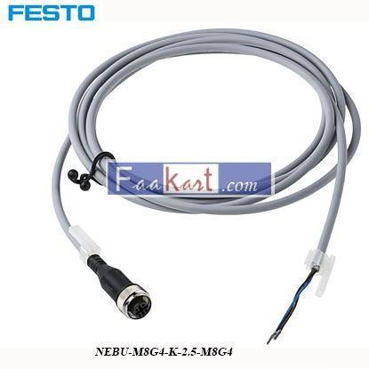 Picture of NEBU-M8G4-K-2  FESTO  M8 4-pin