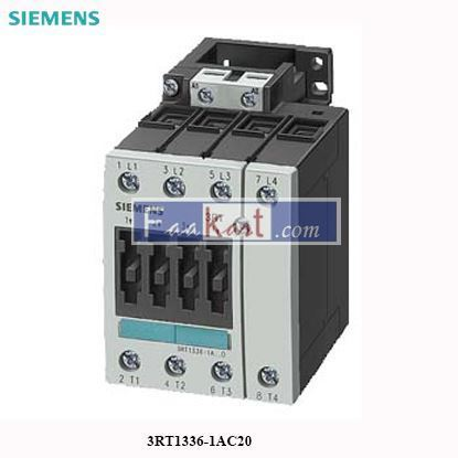 Picture of 3RT1336-1AC20 Siemens Contactor